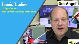 Betfair trading - US Open Tennis, how weather can create opportunties