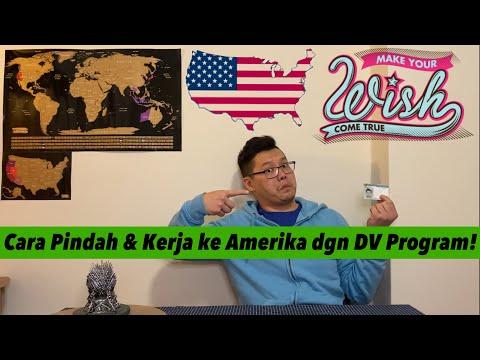 CARA MENJADI WARGA NEGARA AMERIKA MELALUI DV PROGRAM 2021!