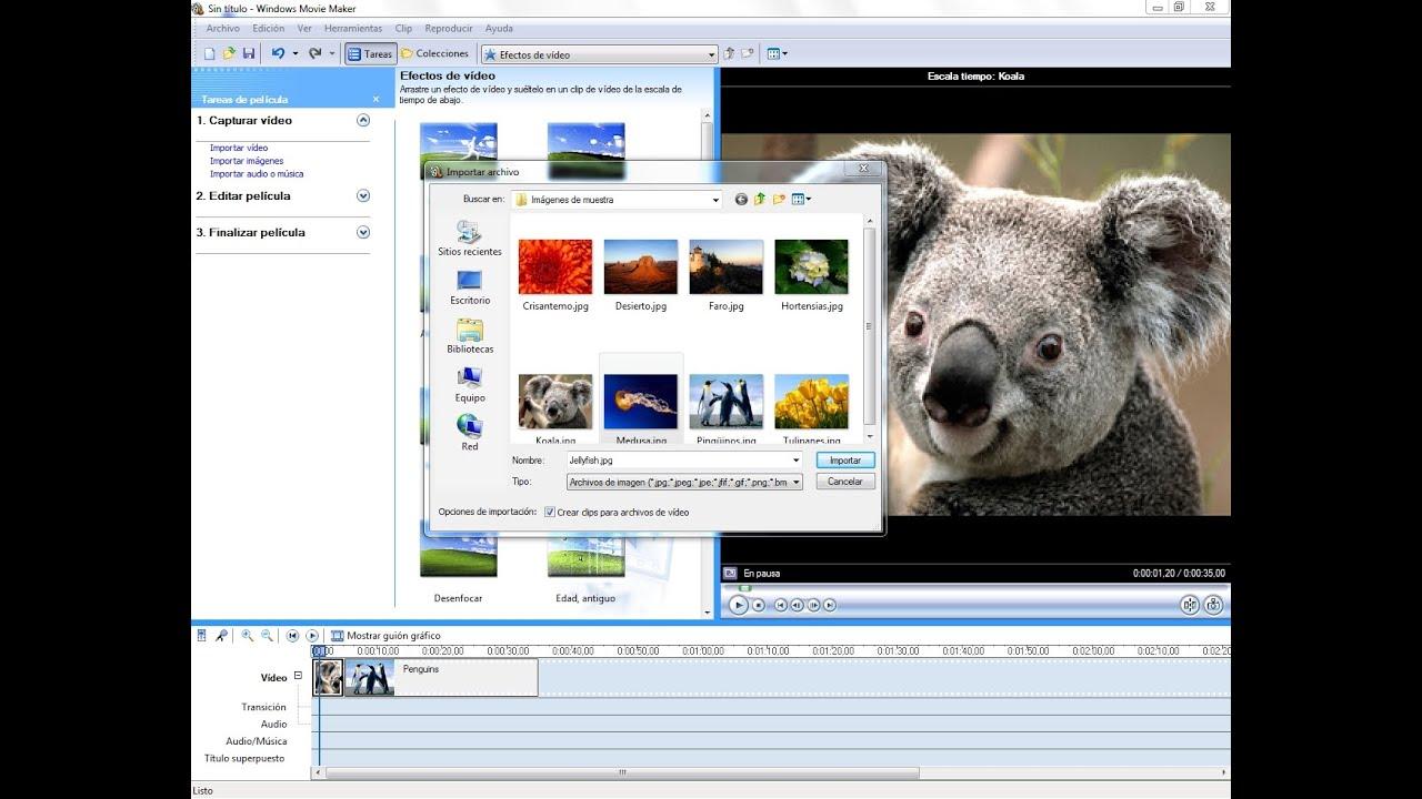 descargar movie maker portable en espaol para windows 7 gratis