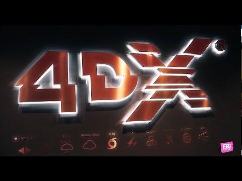 FriStyle s'invite dans l'univers du cinéma 4DX - Review