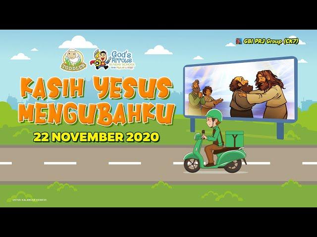 Ibadah Anak Bahasa Indonesia (Online Service) - 22 November 2020
