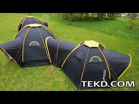 Connect Pod Tents and Transform C&ing Vacations & Connect Pod Tents and Transform Camping Vacations - YouTube