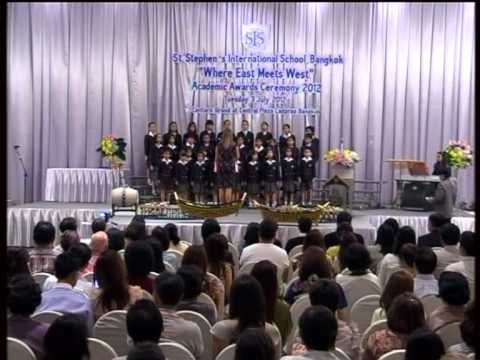 St.Stephen's International School, Bangkok Academic Awards Ceremony 2012 Part 4