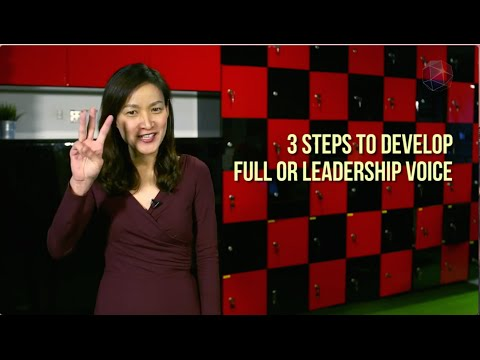 How to Develop a Leadership Voice in 3 Steps