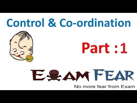 Biology Control & Co-ordination part 1 (Introduction) CBSE class 10 X