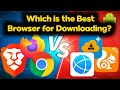 Gambar cover The Best Browser for Downloading in Android 2020 | You Couldn't Believe to the Test Results 🤔