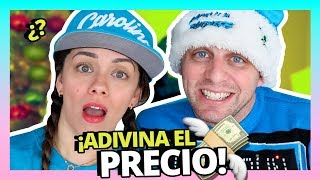 ¿CUANTO CUESTAN MIS COSAS?💸AARON ADIVINA LOS PRECIOS!