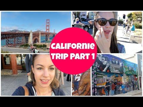 Travel Vlog ➳ Road Trip California Part 1 SAN FRANCISCO l AFRENCHIEINLONDON