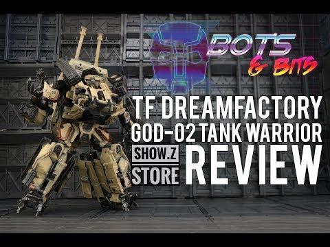 TF Dream Factory GOD 02 Desert Tan KO APS 02 Leader Brawl