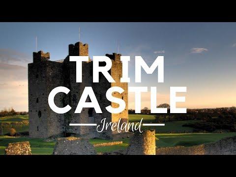 Trim Castle, County Meath, Ireland - Best Irish Castles - Braveheart Movie - What to do in Ireland?