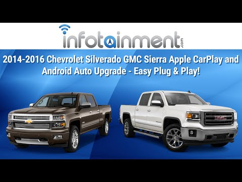 2014 2016 Chevrolet Silverado Gmc Sierra Apple Carplay And Android