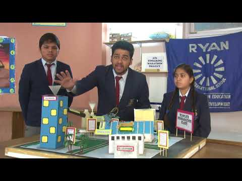 DYE DEGRADATION PLANT - by Ryan International School, Mansarovar, Jaipur