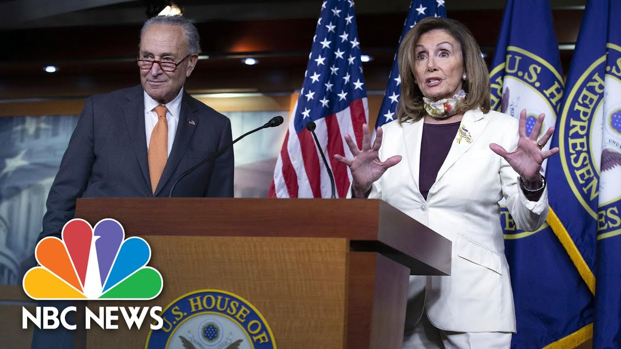 Download Pelosi & Schumer Support Keeping $600-A-Week Unemployment Benefit In Covid Relief Plans | NBC News