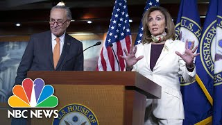 Pelosi \u0026 Schumer Support Keeping $600-A-Week Unemployment Benefit In Covid Relief Plans | NBC News