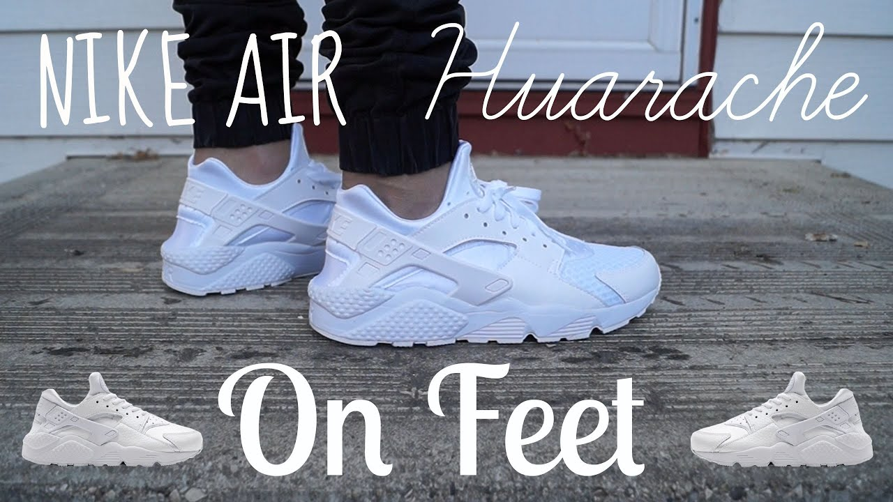 e81bf3fe947e ... germany nike air huarache coke white on feet youtube 21827 49014
