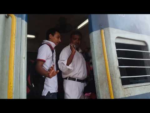 Indian Railway Guard help women but illegaly