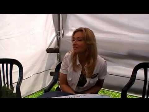Festyn Lotniczy w Michałkowie 2011 - Wywiad z Martyną Wojciechowską