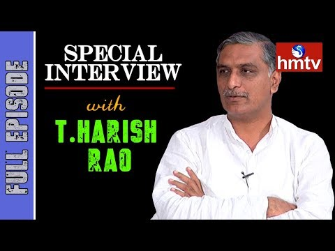 TRS Leader Harish Rao Special Interview | hmtv