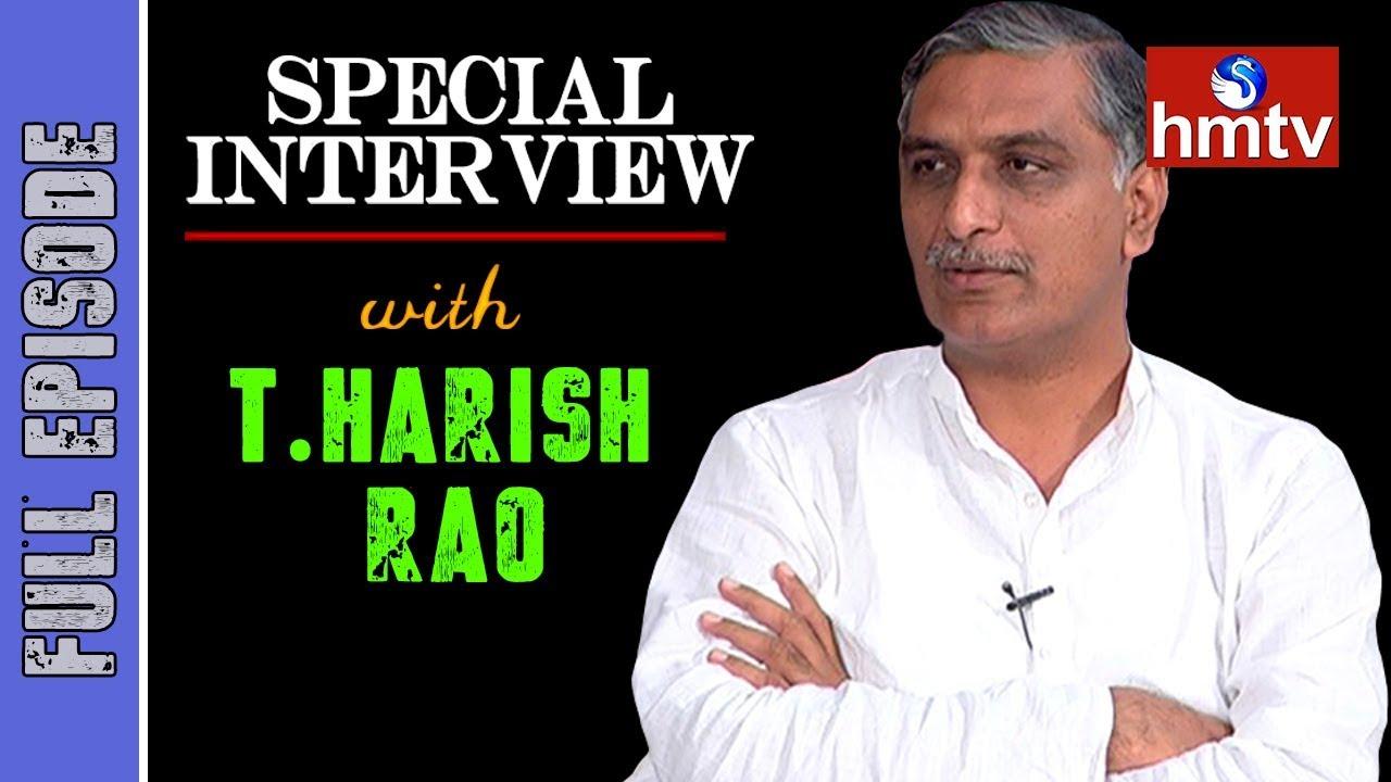 TRS Leader Harish Rao Special Interview | hmtv