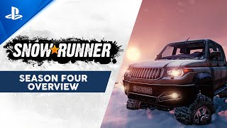 SnowRunner - Season Four Overview Trailer | PS4