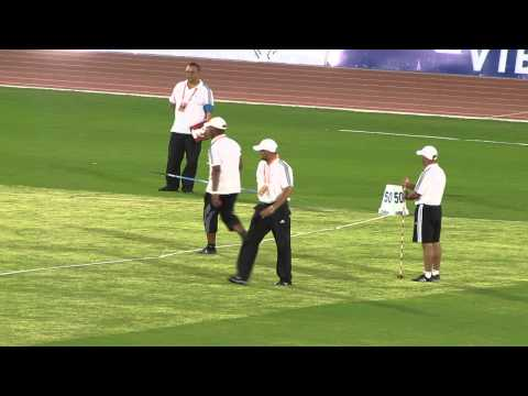 Marrakech 2014 Women's Javelin Throw Mary Zuta Nartey