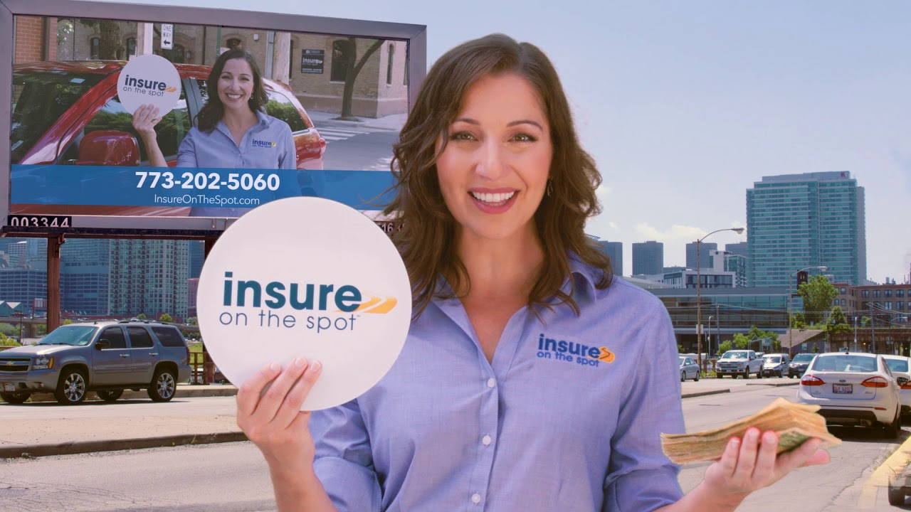 Insure On The Spot Get Auto Insurance 773 202 5060 Youtube