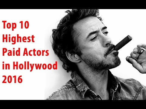 Top 10 Highest Paid Actors in Hollywood 2016