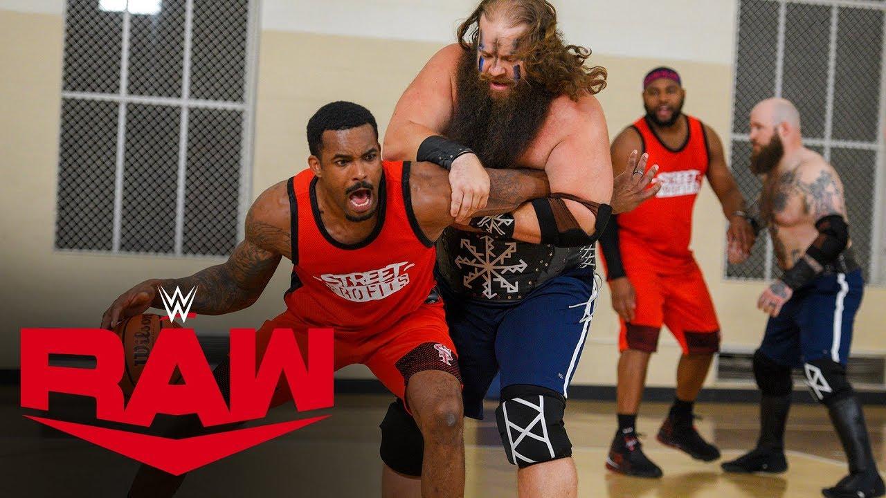 Street Profits vs. Viking Raiders – Basketball Game: Raw, May 11, 2020