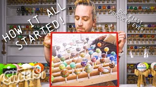 Sweets Kendamas Museum Tours - Our First Products!