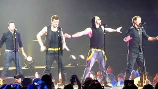 [HD] NKOTBSB 2011 TOUR: BSB Shape of my Heart & As Long As You Love Me [LIVE]