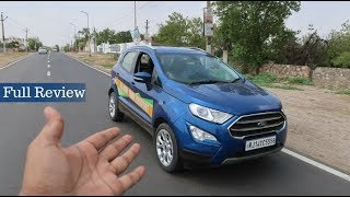 Ford Ecosport 2018 Review | सब कुछ | Gagan Choudhary