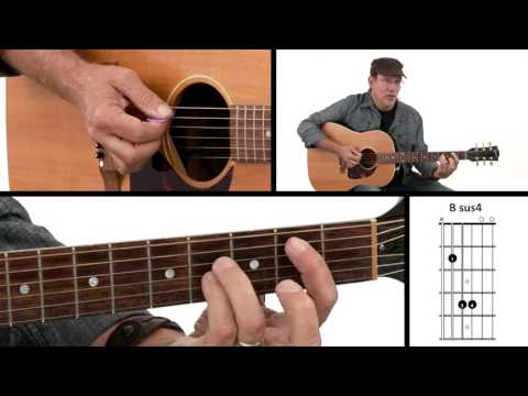 Bsus4 Guitar Chord @ worshipchords