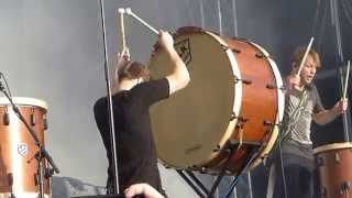 IMAGINE DRAGONS RADIOACTIVE- BRAVALLA 2014 - KNOCKS THE BIG DRUM OVER