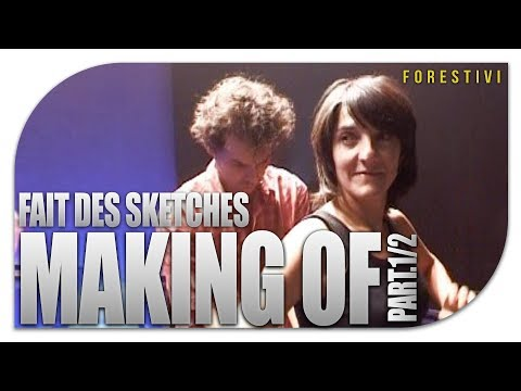 MAKING OF 1/2 - Florence Foresti fait des sketches