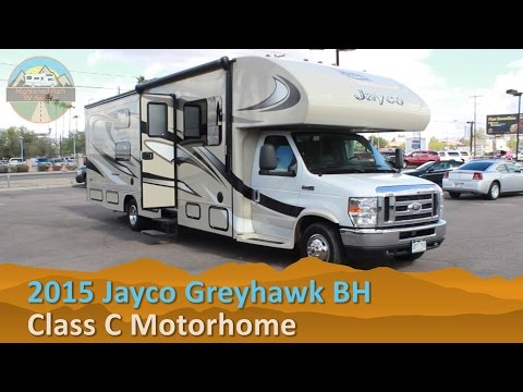 RV Rental Reviews 2015 Jayco Greyhawk Bunkhouse Class C Motorhome Hire