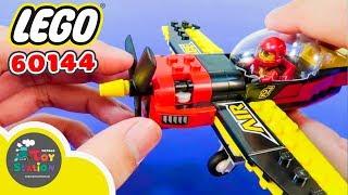 Lắp ráp bộ Lego 60144 máy bay đua Air Race ToyStation 179