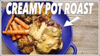Creamy Tomato Pot Roast Recipe - Le Gourmet TV 4K