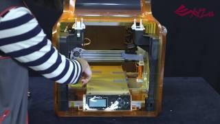 Da Vinci Jr. 1.0A - Unpacking And Setup Procedures