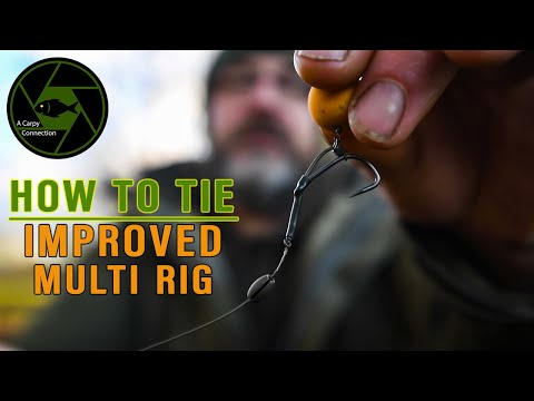 Carp Fishing Rigs -  A Carpy Connection - How I Tie The Multi Rig