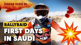 Dakar 2020: What's Happening On Sam Sunderland's Bike?! | Dune Days #1