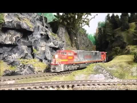 Railfanning Paper Valley Model Railroad