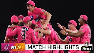 Sydney Sixers too strong for Perth Scorchers and go back-to-back | KFC BBL|10