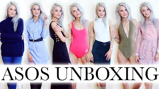 ASOS HAUL, UNBOXING AND TRY ON for Fashion Week