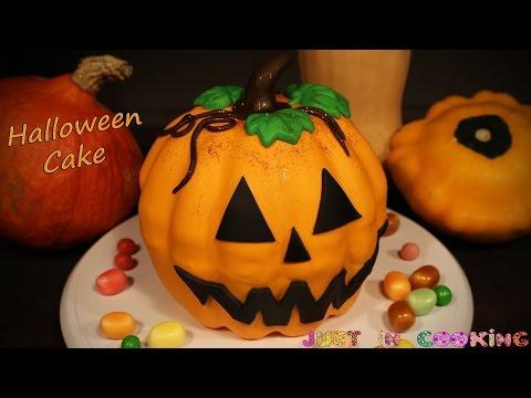 gâteau-citrouille-d'halloween-façon-piñata-cake---pumpkin-cake-3d