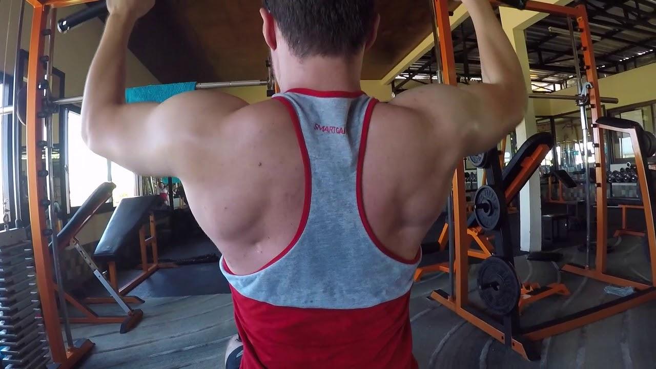 Bali Gym Training Lat @ Surya Gym Canggu