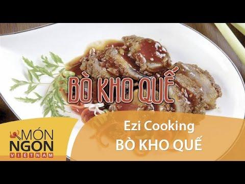 how to make bo kho video