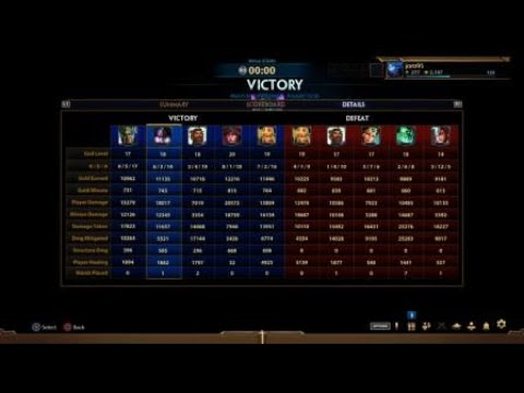 SMITE Nox Assault Tired/Late Game