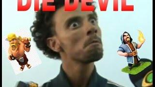 CLASH OF CLANS(DEFESA)MORRE DIABO!-(DEFESA)-DIE DEVIL.HUE