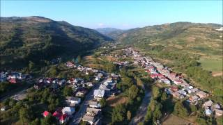 Salva, Romania from the birds eye view.