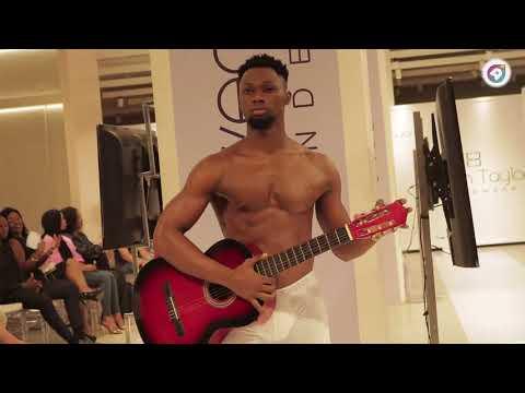 Runway Models  Rocked Ghanaian Male Underwear Lawen Taylor When It Was Launched In Accra